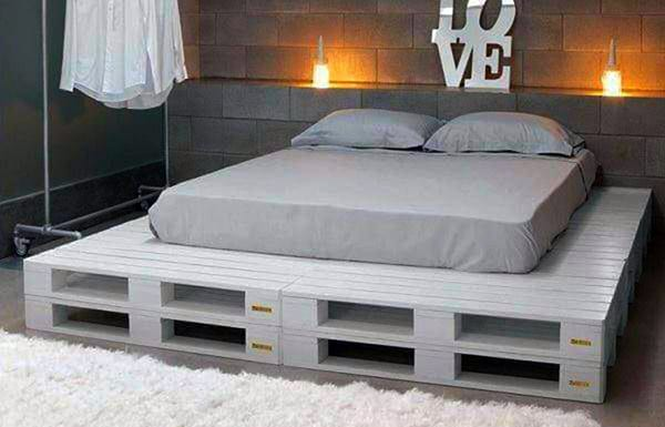 Interessante Paletten Ideen Fur Minimalistische Schlafzimmer