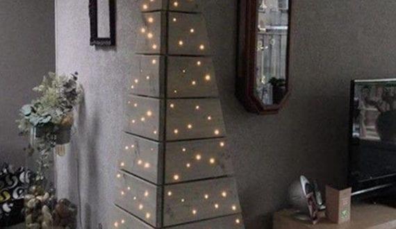 originelle bastelideen f r weihnachtsdeko mit diy alternative zur weihnachtsbaum freshouse. Black Bedroom Furniture Sets. Home Design Ideas