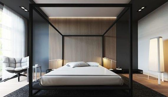 schlafzimmer-ideen-für-luxuriöse-einrichtung-mit-modernem ...