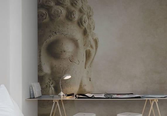 Buddha-Fototapete-für-entspannende-raumgestaltung-in-schlaf-und ...