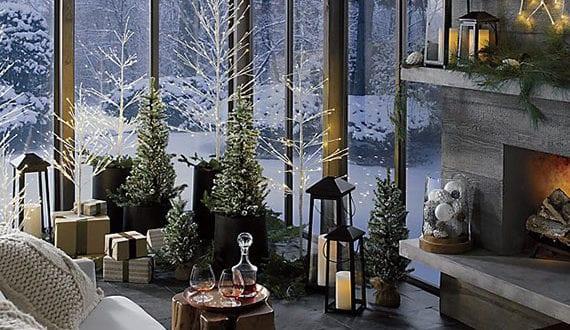 Wohnzimmer Weihnachtsdeko.Attraktive Weihnachtsdeko Ideen Für Fröhliche Weihnachtsstimmung Im