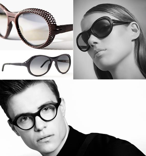 moderne 3D gedruckte Brillen für männer und frauen