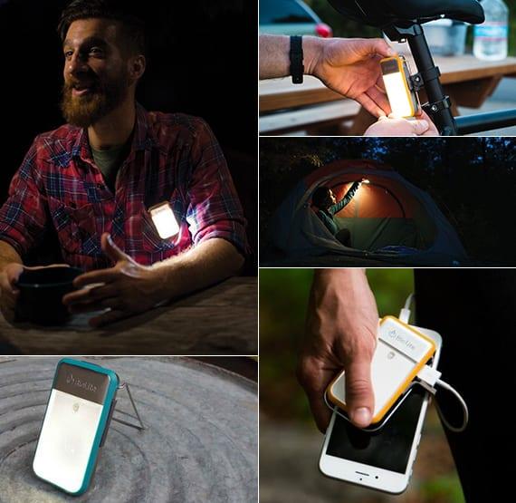 multifunktionale taschenlampe als kreatives geschenk für Fahrradfahrer und camping-liebhaber