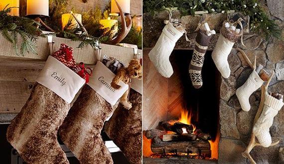 Gem Tliche Wohnzimmer Dekoration Zu Weihnachten Mit