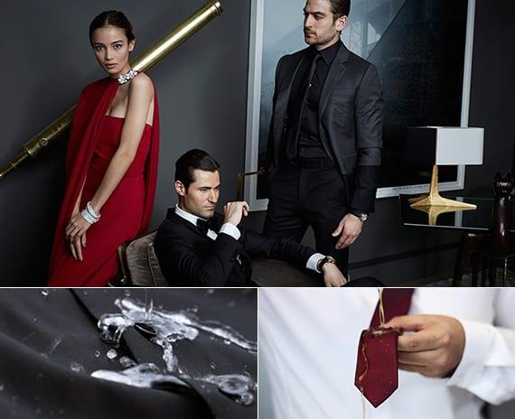 innovative wasserdichte anzüge, hemde und krawaten als kreative geschenkidee für moderne männer
