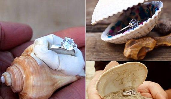 coole ring box ideen f r verlobungsringe und eine romantische verlobung am strand freshouse. Black Bedroom Furniture Sets. Home Design Ideas