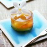 agar süßigkeiten mit jasmin tee und pfirsich