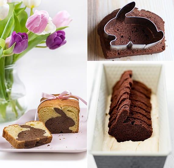 einfache und schnelle osterrezepte für Osterhase Kuchen