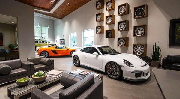 Wonderful Living In A Garage Beispiele Für Luxus Wohnzimmer
