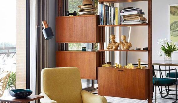 elegante raumteilung ideen mit regalsystemen f r funktionale und moderne raumgestaltung freshouse. Black Bedroom Furniture Sets. Home Design Ideas