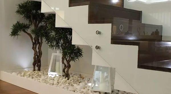 15 Treppen Ideen für sinnvolle Raumnutzung einer Treppennische
