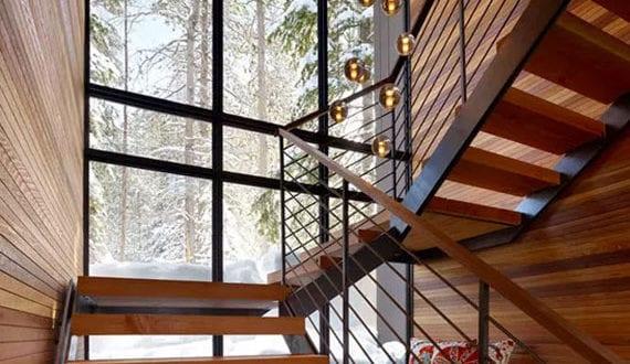 Treppen Ideen Für Den Raum Unter Offene Treppe Nutzen Als Gemütliche
