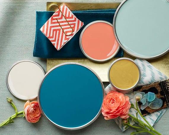 individuelle farbgestaltung mit passender farbkombination entsprechend ihrer persönlichkeit