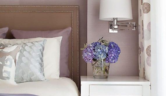 Elegante und romantische raumgestaltung mit sanfter for Raumgestaltung mit farbe