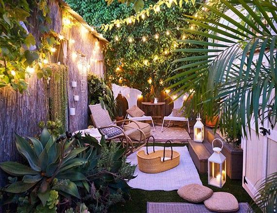 Gemeinsame romantische-gartengestaltung-für-kleine-gärten-und-hinterhöfe-mit @OF_25
