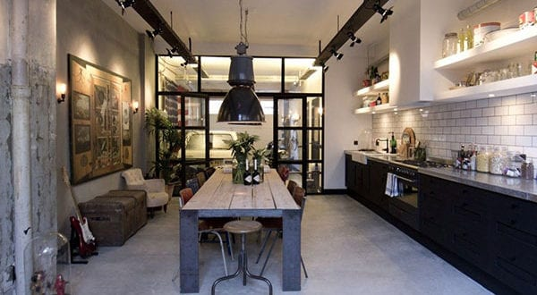 Transformation einer Garage in Loft Apartment