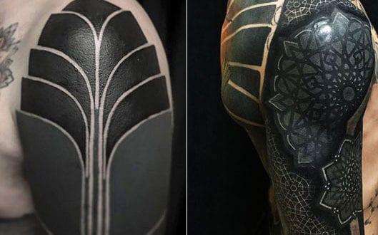 Tattoo motive männer schulterblatt