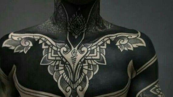 Tattoo schwarz unterarm männer 42 Totenkopf