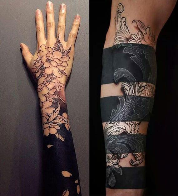 Dezente unterarm tattoos männer
