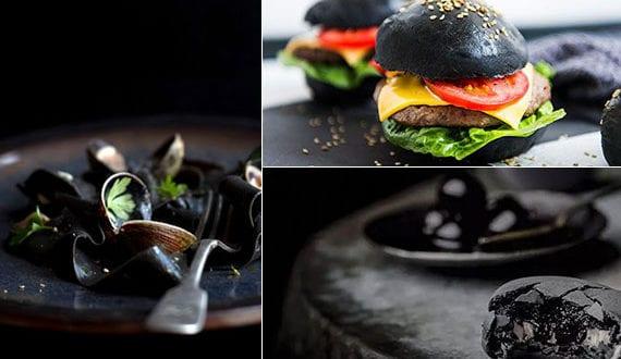 15 Black Food Rezepte für Schwarzromantiker und ein exzentrisches Halloween-Abendessen