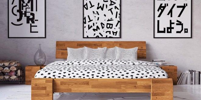 Massivholzbett: Stilvolle Schlafzimmereinrichtung mit natürlichem Charme