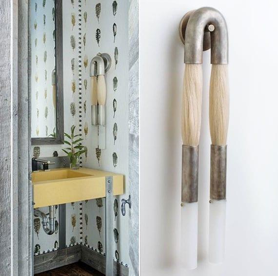 coole-wanddeko-idee-fürs-bad-mit-designer-wandleuchten-aus ...