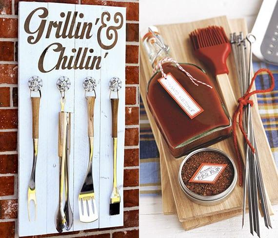 DIY Grill-Set als kreative geschenkidee für grillliebhaber