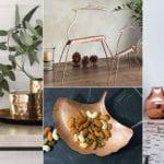fantastische ideen für moderne raumdekoration und stilvolle einrichtung mit deko- und wohn-accessoires aus kupfer