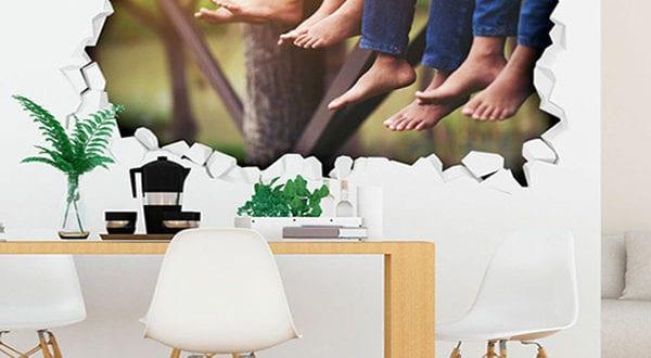 Fantastische Aufkleber und Wandtattoos für eine kreative Raumgestaltung