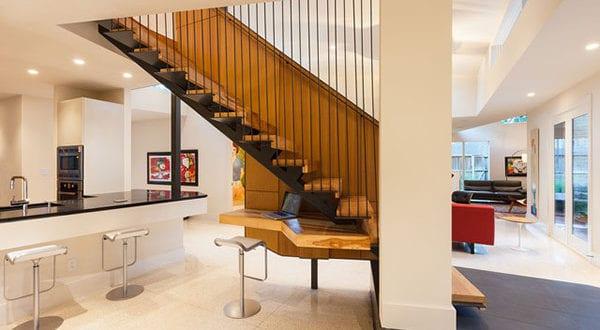Flächensparende Treppenformen und Lösungen für sinnvolle Raumnutzung