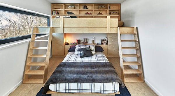 Hochbetten im Kinderzimmer – ein Kindertraum für mehr Raum