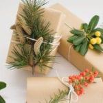 geschenke verpacken mit stil und vorhandenen materialien