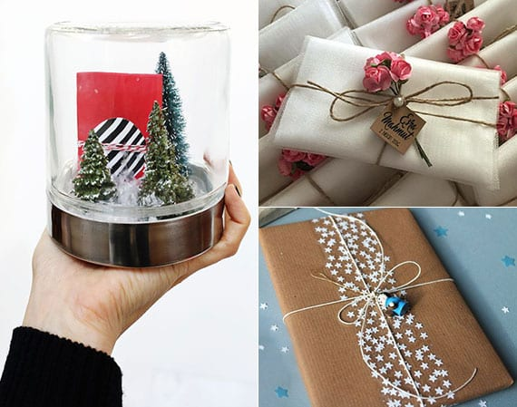 gutschein kreativ verpacken zu weihnachten oder anderen Anlass