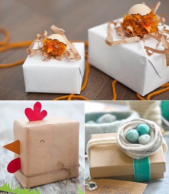 originelle geschenkverpackung selber machen für geschenke zu ostern