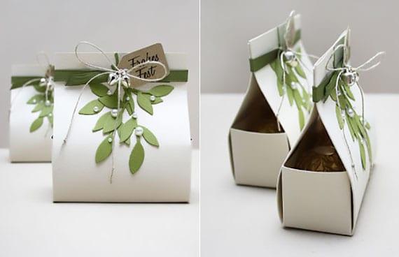 verpackungsidee für kleine geschenke und pralinen