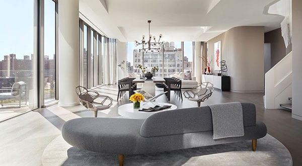 Eine Traumwohnung in NYC für 50Mio. USD – Das Triplex-Penthouse im ersten von Zaha Hadid geplanten Wohngebäude