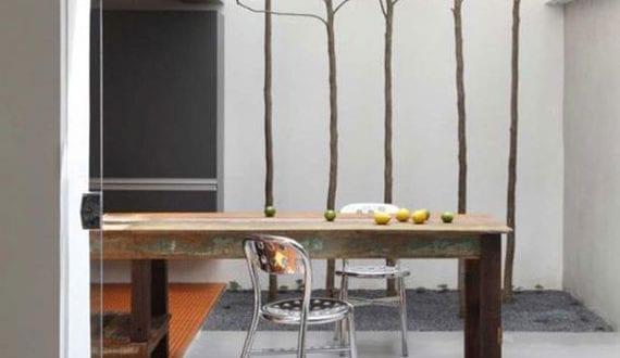 bäume-in-der-küche_attraktive-idee-für-schlichtes-interior-design-mit-wachsenden-bäumen-im-innenraum