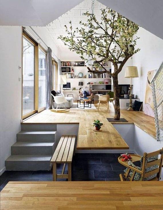 Der Baum Als Gestaltungselement Im Heutigen Interior Design Freshouse
