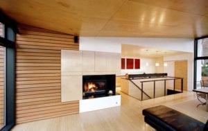 wohnliche Atmosphäre schafen und modernes Interieur gestalten mit Verkleidungspaneelen in Holzoptik