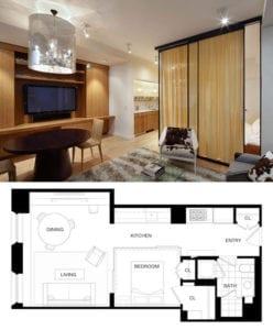Mietwohnungen-im-Trend_modern-eingerichtete,kleine-Wohnungen-für-Singles-und-Paare