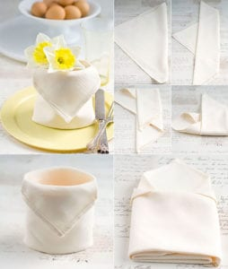 tisch-eindecken-zu-ostern-mit-osterkorb-aus-serviette