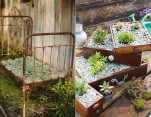 coole-deko-tipps-und-ideen-für-Vintage-Gartengestaltung-mit-Sukkulenten