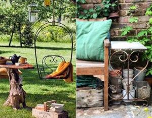garten-im-vintage-look_deko-tipps-und-ideen-für-attraktive-gartengestaltung-mit-farben