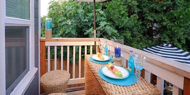 tolle-tipps-und-ideen-balkongestaltung_platzsparende-möbel-für-funktionale-und-moderne-einrichtung-kleiner-balkons
