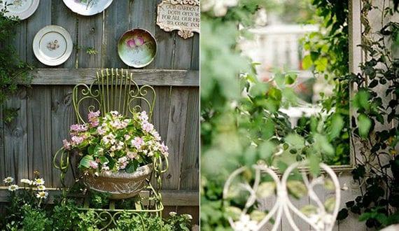 vintage-deko-tipps-und-ideen-für-den-gartenmauer