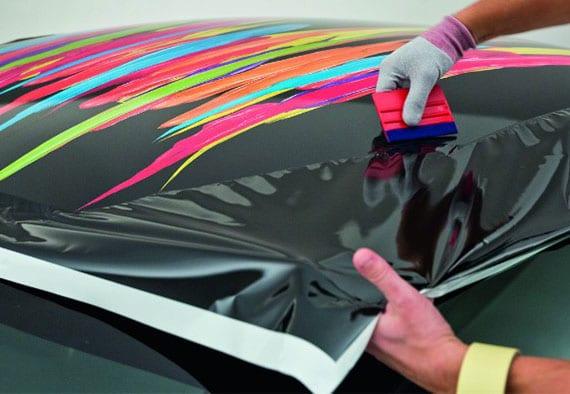 wie funktioniert das Folieren eines Autos