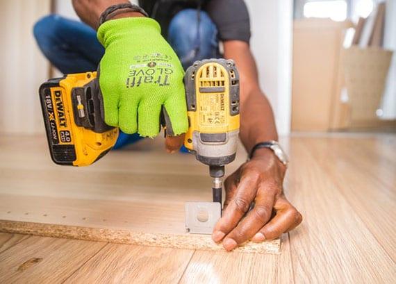 passende Ausrüstung für den eigenen Werkzeugraum