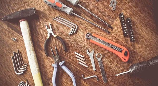 Was gehört in eine gute Heimwerkerausrüstung