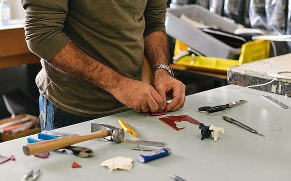 die wichtigsten Werkzeuge für den meisten handwerklichen Vorhaben im Haus
