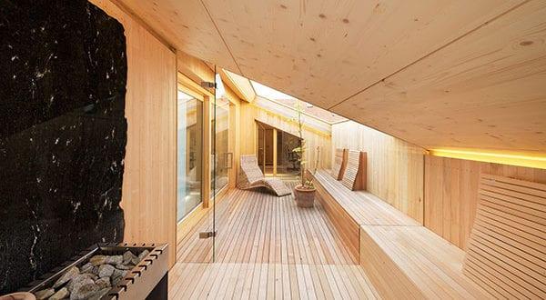 Entspannen und mehr Wellness daheim genießen mit einer Sauna für zu Hause